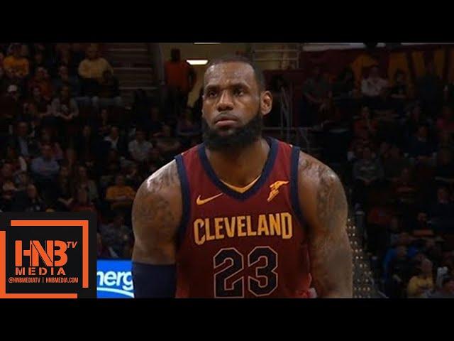 Cleveland Cavaliers vs Toronto Raptors 1st Half Highlights / March 21 / 2017-18 NBA Season