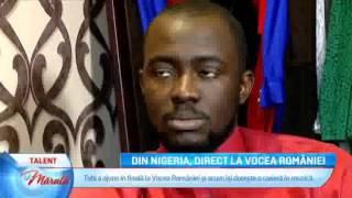 Din Nigeria, direct la Vocea Romania Tobi Ibitoye - Miss You