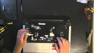 TOSHIBA Satellite A135 laptop take apart video, disassemble, how to open disassembly
