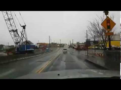 Drive around Tillamook with mixed rain and snow
