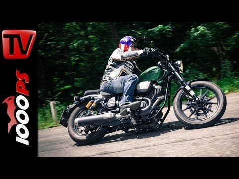 Yamaha XV950R Testvideo- Action, Onboard, Sound