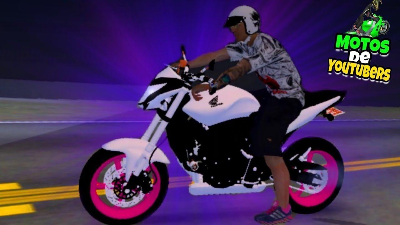 Role com a moto do leo da Hornet Gta san andreas