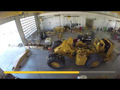 Cat 988G Wheel Loader Rebuild – Full Time-Lapse Video