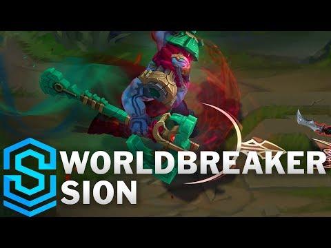 Worldbreaker Sion Skin Spotlight - League of Legends