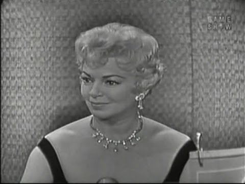 What's My Line?  Lana Turner; Mel Ferrer panel Mar 22, 1959