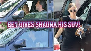 EXCLUSIVE - Ben Affleck Gives Playmate Shauna Sexton His Car, And We Asked Her This...