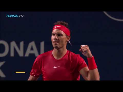 Dimitrov, Tsitsipas, Nadal survive into quarter-finals | Rogers Cup 2018 Highlights Day 4
