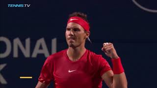 Tsitsipas upsets Djokovic; Nadal reaches quarter-finals | Rogers Cup 2018 Highlights Day 4