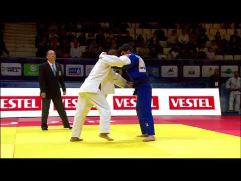 Grand Slam Baku 2015  DJEDDI Oussama ALG  BAYRAMOV Vugar  AZE