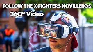 Follow the Novilleros in 360 at the Red Bull X-Fighters 2017 Arena