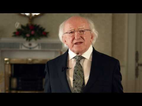 2017 St Patrick's Day Message from President Michael D. Higgins