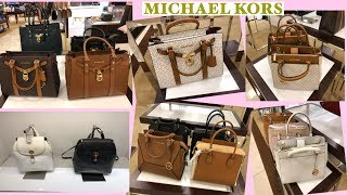 mICHAEL KORS BAGS NEW STYLES  NEW COLLECTION SALE MK BAGS  COME WITH ME  SHOP WITH IT'S PURRFECT