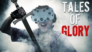 Mount and Blade in VR! Massive Medieval Battles! - Tales Of Glory Gameplay - VR HTC Vive