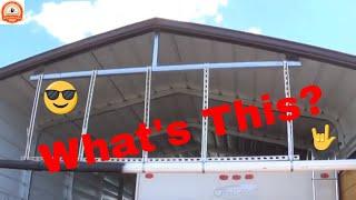 Rain Harvesting, Gutter,  Versa Tube, Metal Carport