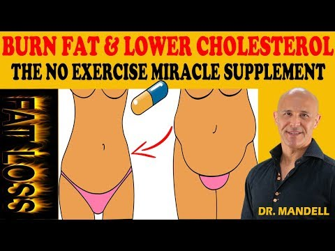 BURN FAT & LOWER CHOLESTEROL...THE NO EXERCISE MIRACLE SUPPLEMENT  Dr Alan Mandell, DC