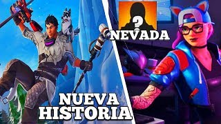 ADDITION *NEW NEVADA SECRETS* WHO IS THE NEW VILLANO ? Fortnite Battle Royale