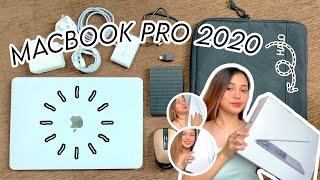 UNBOXING MACBOOK PRO 2020 + accessories    Philippines