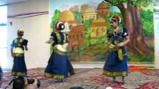 Vellai Thamara Dance by Anjal, Sruthi and Anvita - Chreographed by Vrinda Sunil
