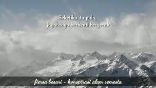 Fiersa Besari - Konspirasi Alam Semesta ( Lirik )