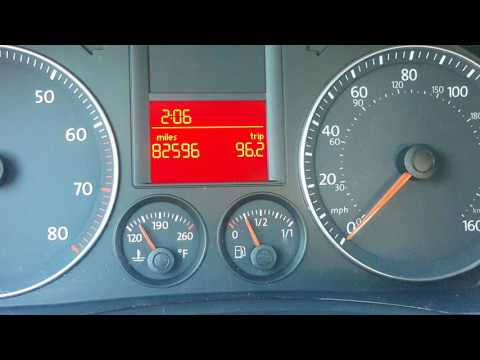 "VW Jetta 2009 after ABS recall and software ""update"". Waiting for ABS module. Non working ABS!"