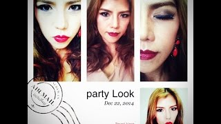 Tutorial Party Look แต่งหน้าไปปาร์ตี้ / collab with TK Sasitorn Thumbnail