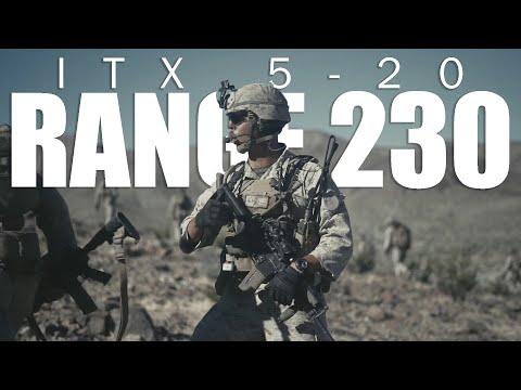 1st Marine Division and Range 230