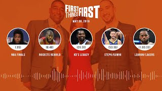 First Things First audio podcast (5.30.19)Cris Carter, Nick Wright, Jenna Wolfe | FIRST THINGS FIRST