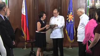 Courtesy Call of Foundation for the National Institutes of Health Director Nina Solarz