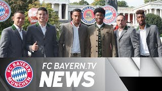 High spirits for bayern at oktoberfest