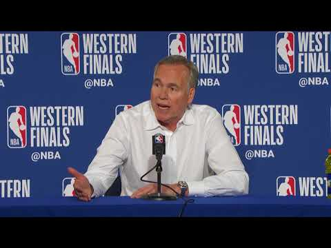 Mike D'Antoni Postgame Interview - Game 4 | Rockets vs Warriors | 2018 NBA West Finals