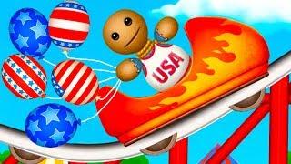 ШАРИКИ и САЛЮТЫ ФЕЙЕРВЕРКИ против АНТИСТРЕССА #47 Эксперимент с игрушкой Kick the Buddy и Кидом