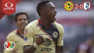Resumen América 2 - 0 Querétaro | Clausura 2019 - Jornada 5 | Televisa Deportes