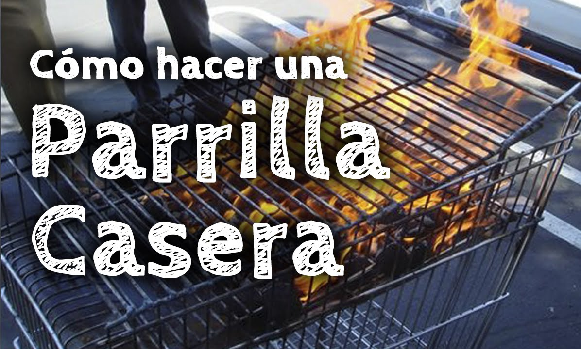 C mo hacer una parrilla casera diy youtube for Como construir una pileta de hormigon