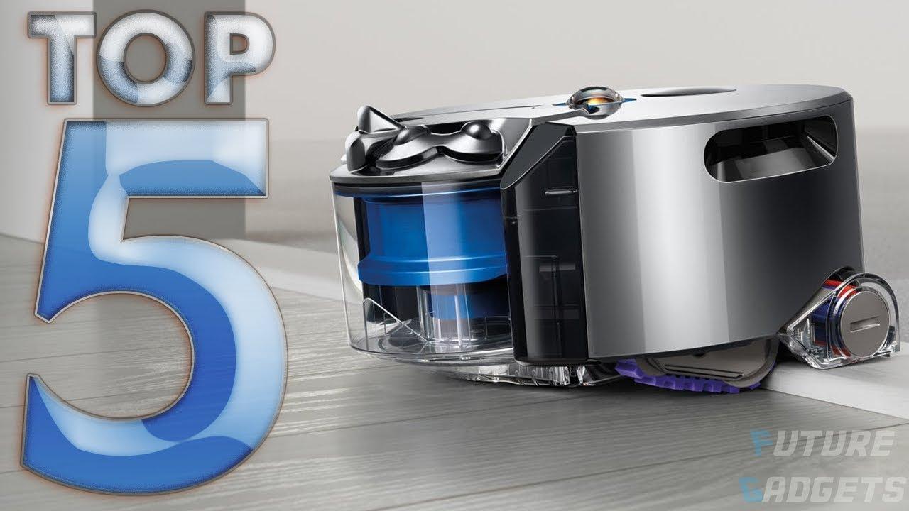 Top 5 Best Robotic Vacuums 2018 ✔️ Smart Home Robot Vacuum