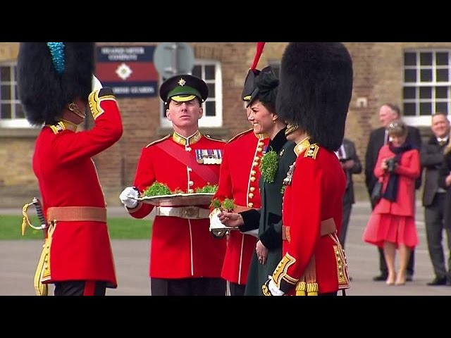 Prince William and Kate celebrate St Patrick's Day