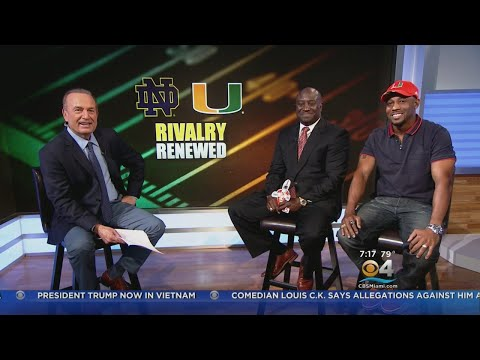 Former UM Stars Weigh In On Notre Dame Rivalry Revival