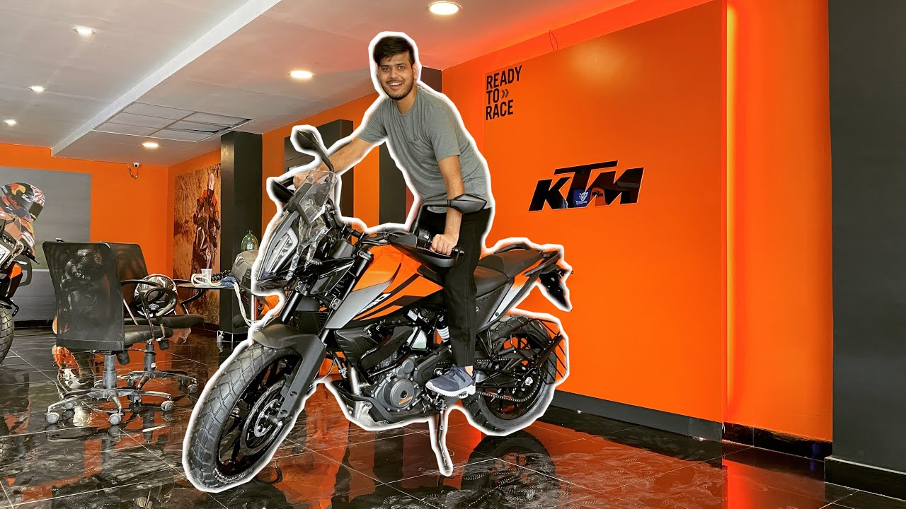 FINALLY TAKING DELIVERY OF MY NEW BIKE 🔥 | KTM ADVENTURE 390 |