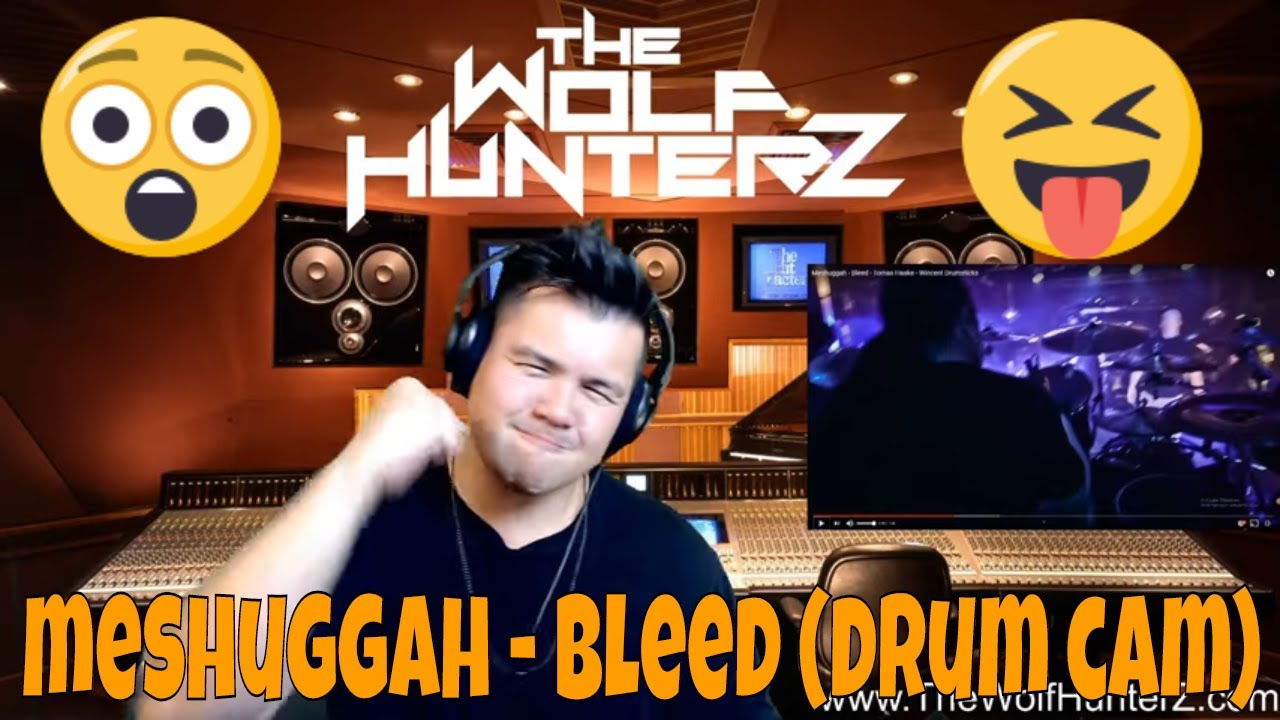 Meshuggah - Bleed - Tomas Haake - Wincent Drumsticks | THE WOLF HUNTERZ Jon aka threeSXTN Reaction