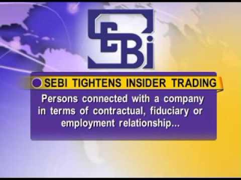 SEBI tightens insider trading norm