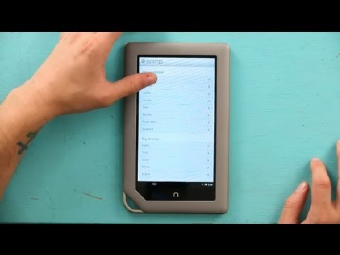 how to enable auto update on a nook color nook nook colors