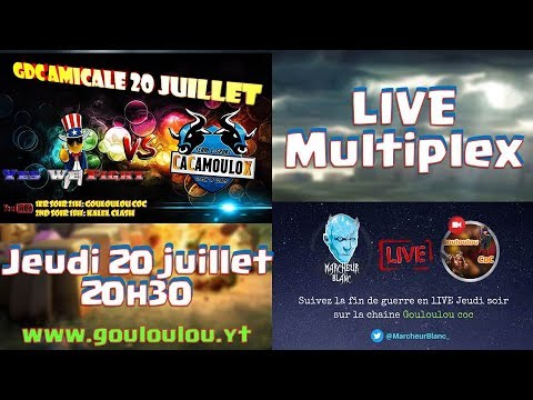 LIVE Multiplex | Yes We Fight vs Cacamoulox | Marcheur Blanc