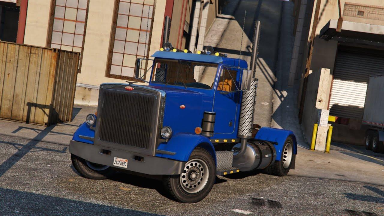 Grand theft auto 5 peterbilt 289 diesel semi truck mod for Fenetre sale gta 5