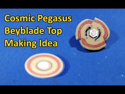 Cosmic Pegasus Beyblade Top making | Cosmic pegasus Mode change Driver making at Home