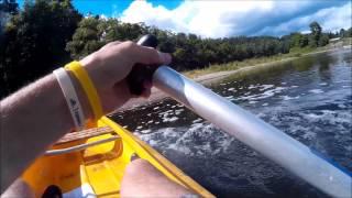 Vodácký výlet 2015 - Berounka - jezy - sestřih (1/15)