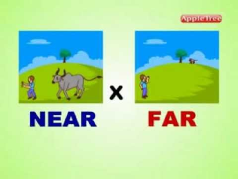 Number Names Worksheets list of opposite words with pictures : Opposite Words 20 - YouTube
