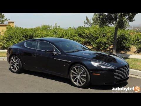 2017 Aston Martin Rapide S Test Drive Video Review - $200k Luxury Sedan