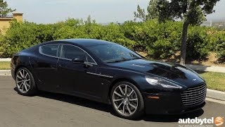 2017 Aston Martin Rapide S Test Drive Video Review - $200k Luxury Sedan