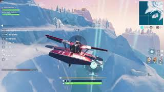 Complete timed trials [EASY] X 4 Stormwing plane ALL LOCATIONS WEEK 9 CHALLENGES FORTNITE SEASON 7
