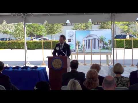 Fourth District Court of Appeal Groundbreaking Ceremony