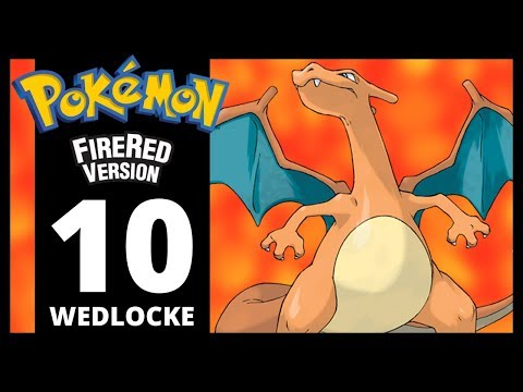 Pokemon Fire Red - Part 10 - Route 10 (Wedlocke Challenge)